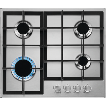Cooktop AEG Built-in Stainless Top 4 Rings