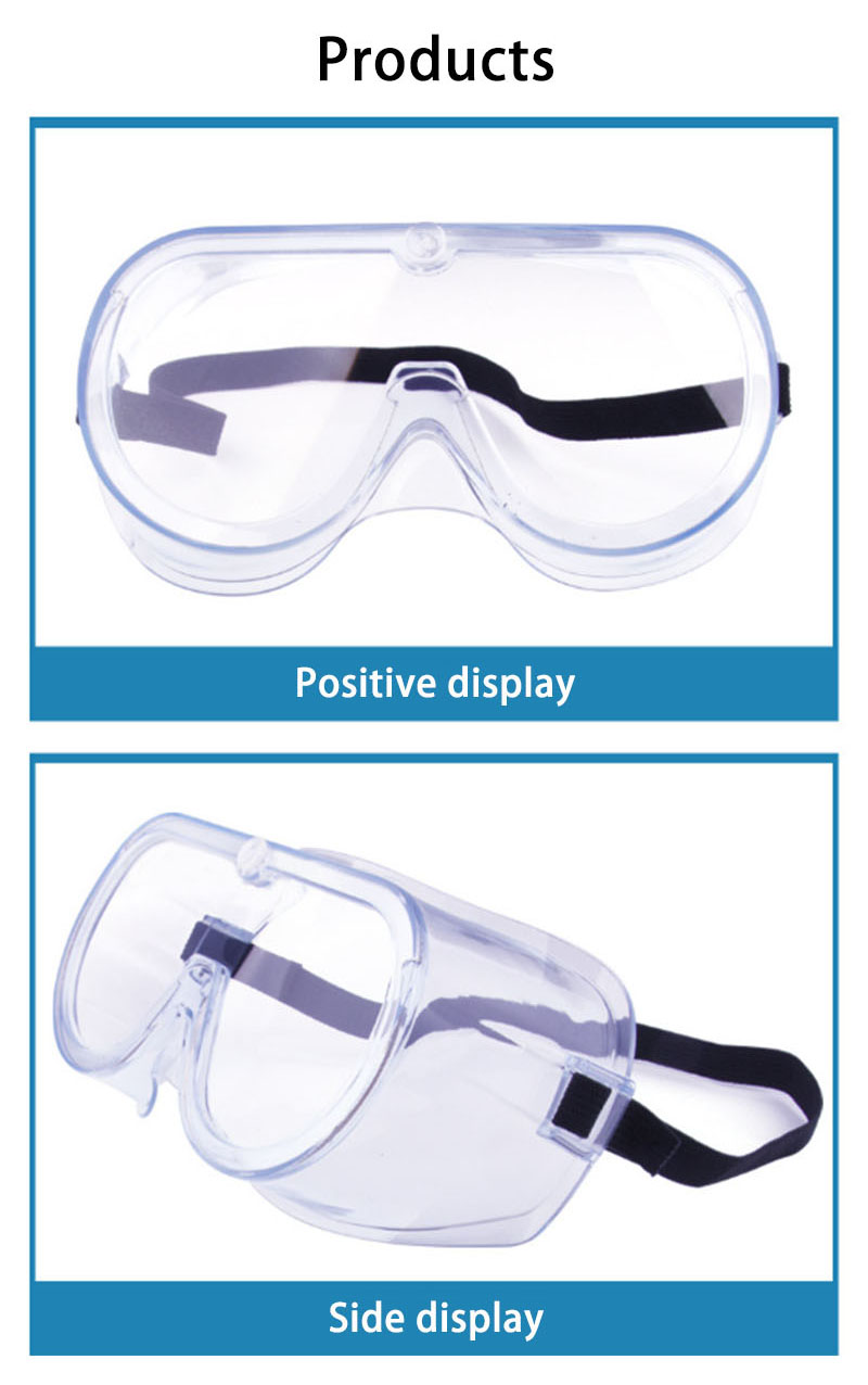 High light transmission multifunctional goggles-2