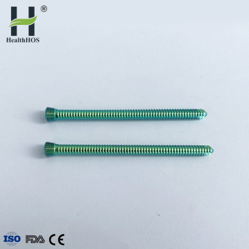 orthopaedic hollow torx locking screws