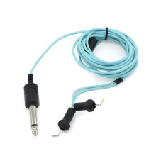 Custom Handmade Tattoo Clip Cord with Soft Spring for Coil Tattoo Machines