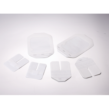 Transparent IV cannula wound dressing