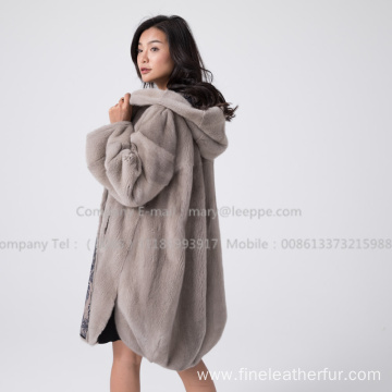 Kopenhagen Mink Fur Coat For Women