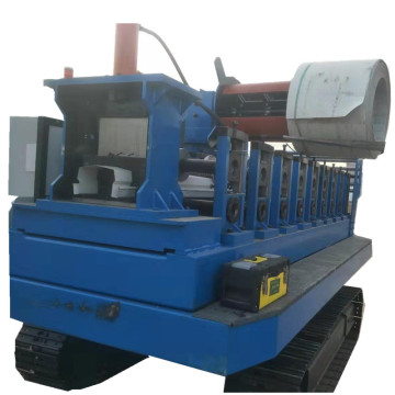 Loading car type rolling forming machine