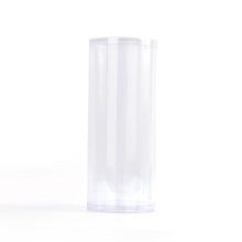customize Clear plastic cylinder packaging container
