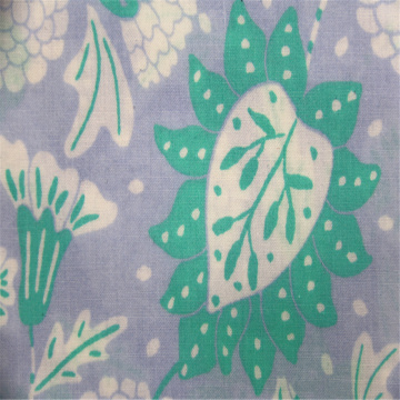 Beautiful pastoral cotton printed plain cloth
