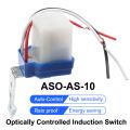 New AS-10 10A Photoswitch Sensor Switch Auto On Off Photocell Street Light Control AC/DC universal 12V 24V 220V