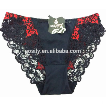 AS-7688 OEM latest panty designs women hot open sexy panty with high elasticity