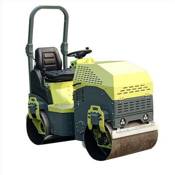 Double steel wheel road roller for sale