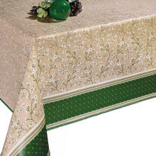 Pvc Printed fitted table covers C&f Quilted