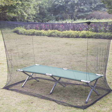 Outdoor STS Rectangular Single Bed Mosquito Net