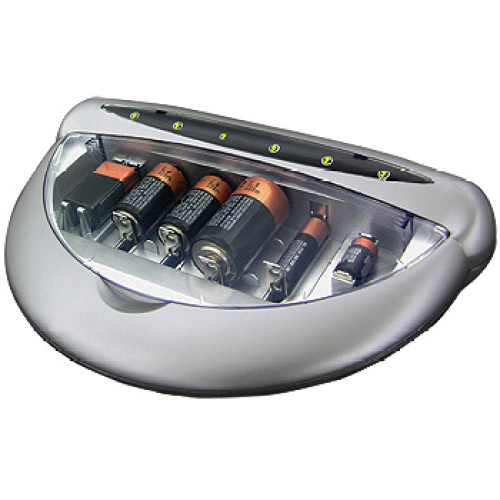 Universal Battery Charger Used For Rechargeable Batteries