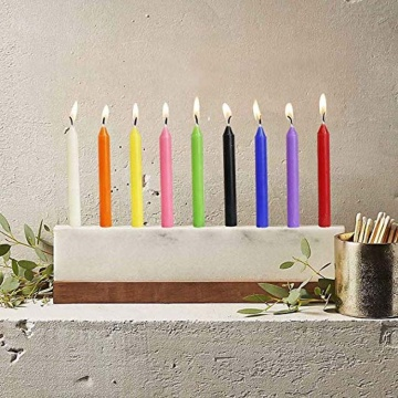 Wholesale colors stick candle for Christmas