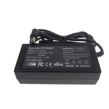 19V3.42A 5.5*1.7mm Laptop Chargers For Acer AspireS3