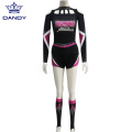 Pink Mystique Cheerleading Uniforms