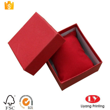 Rigid bangle cardboard box with lid