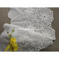 Ivory Raschel Cotton Lace for Garment Accessories
