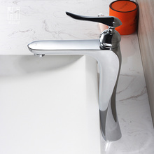 HIDEEP Pure Copper Above Counter Basin Faucet