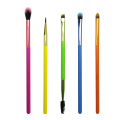 5PC Neon Eye Brush Set