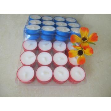 Decorative White Smokeless Tea Lights