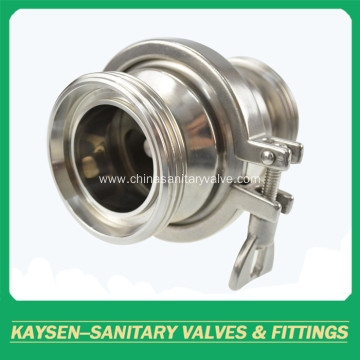 3A Hygienic Check Valves Male Ends
