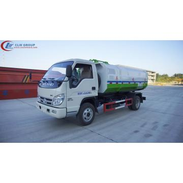Hot deal FOTON 3cbm bin hook truck