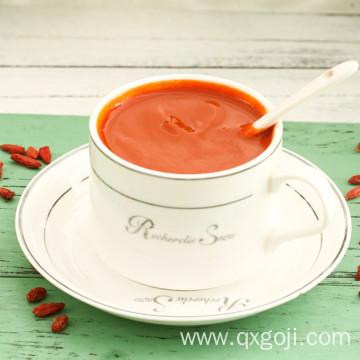 High quality organic goji juice with nutritions