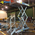 High speed lift table
