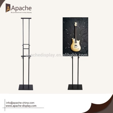 Double sides POP adjustable poster display stand