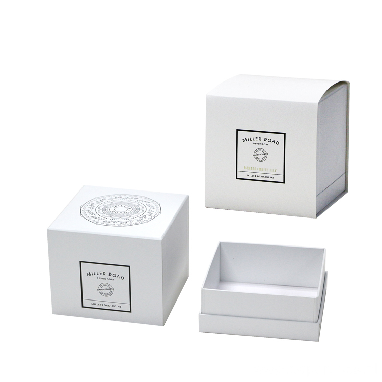 Custom Printed Logo White Perfume Packaging Paper Box
