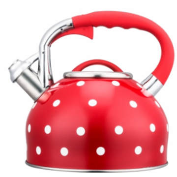 3.0L yellow whistling tea kettle