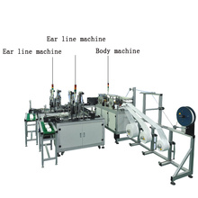 Full Automatic Medical 3ply Disposable Mask Making Machine