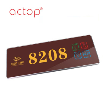 Actop door handle backplate
