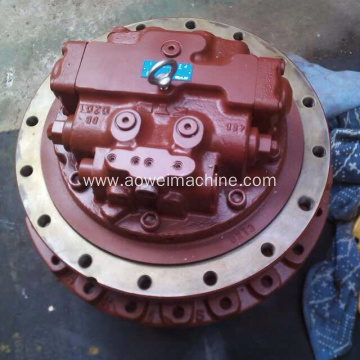 Excavator hydraulic travel motor final drive