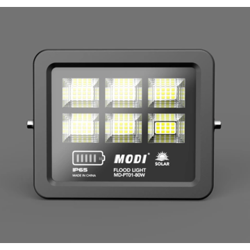 Safety solar flood light with motion sensor