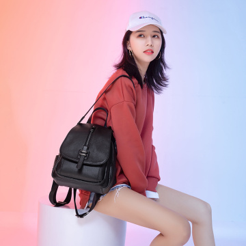 High Quality Nice PU Large Work Backpack