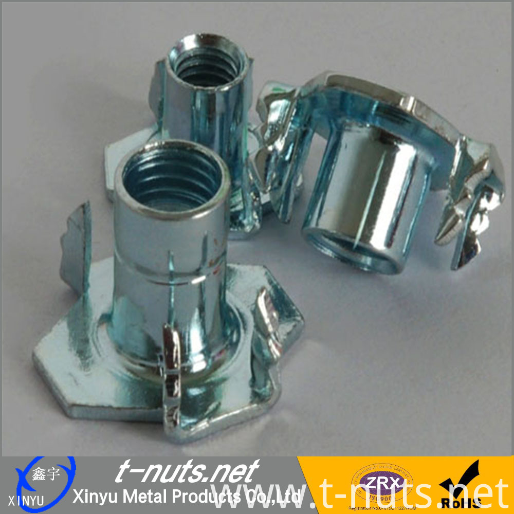CBNHF Low Carbon Steel Zinc Plated T-Nuts