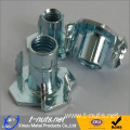 CBNHF M8x11 Low Carbon Steel Zinc Plated T-Nut