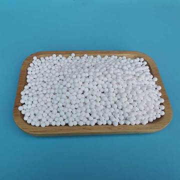 large contact area with water activated alumina