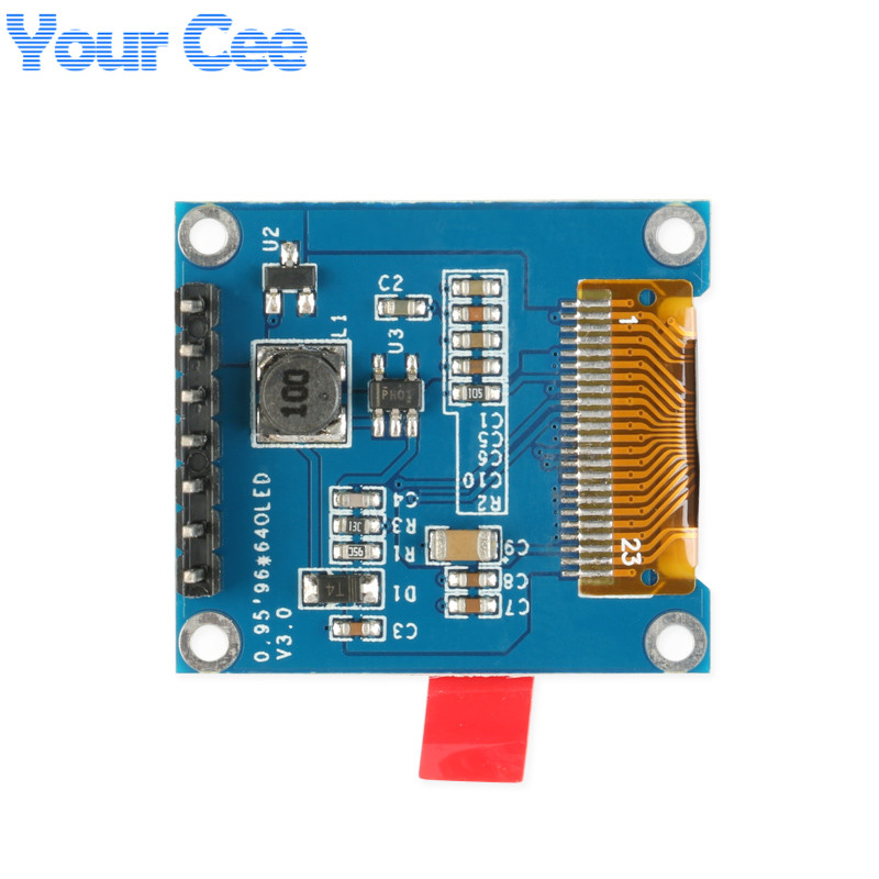 0.95 inch OLED Display Module HD OLED Module SSD1331 Controller 7pin Resolution 96*64 Full Color For Arduino DIY SPI