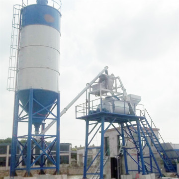 HZS25 universal wet mix concrete batching plant