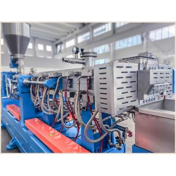 Compounding Masterbatch Twin Screw Extruder for Devolatization