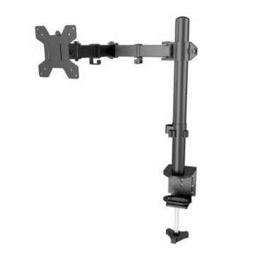 Aluminum Adjustable Flexible Single LCD Monitor Arm