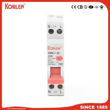 EARTH LEAKAGE CIRCUIT BREAKER KNBL1-32 32A 10mA CB