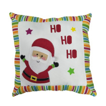 Christmas santa pillow with HO HO HO