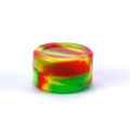 10pcs Functional 5ml silicone jars dab wax container dry herb wax silicone weed jar wax bho vaporizer oil containers