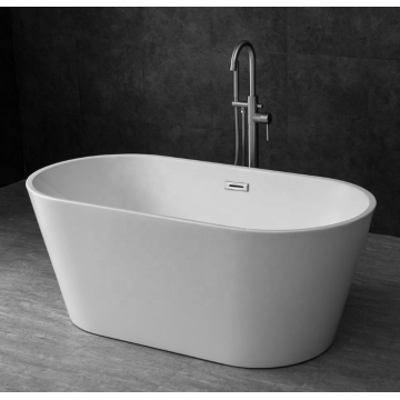 Modern Design Freestanding White Acrylic Bathtub Tubs