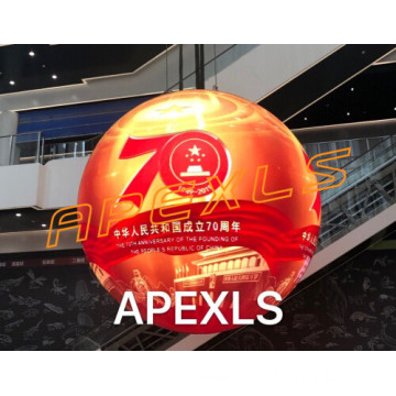 P5 indoor 1.2m diameter led sphere display
