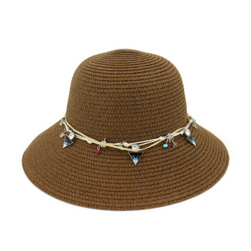 Adorable design fishmen bucket summer straw hat