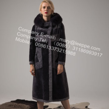 Ladies Winter Spain Merino Shearling Coat
