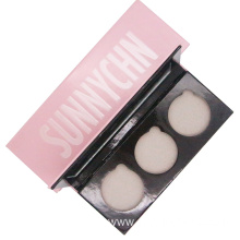 Cosmetic paper palette foundation packaging